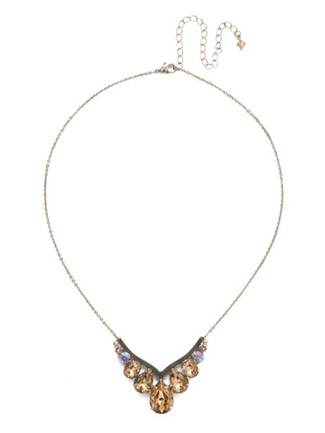 Peared Up Necklace in Antique Silver-tone Mirage