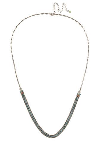 Nerine Necklace in Antique Silver-tone Vivid Horizons