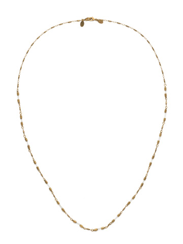 Chained To the Rhythm Necklace in Antique Gold-tone Crystal