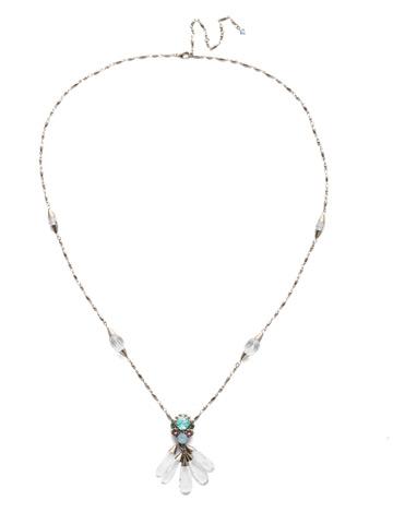 Pazienza Long-Strand Necklace in Antique Silver-tone Pastel Prep