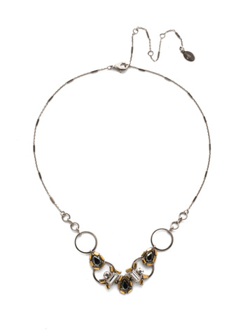 Aurora Classic Necklace in Antique Silver-tone Heavy Metal