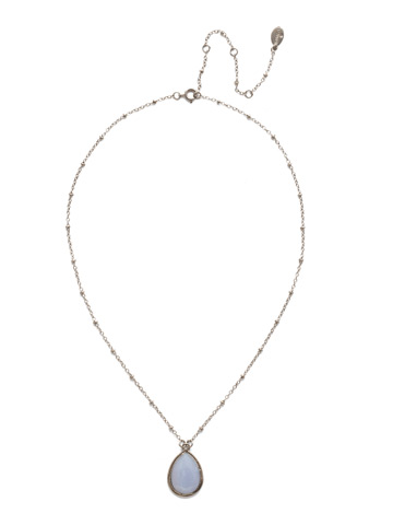 Harah Pendant Necklace in Antique Silver-tone Glacier