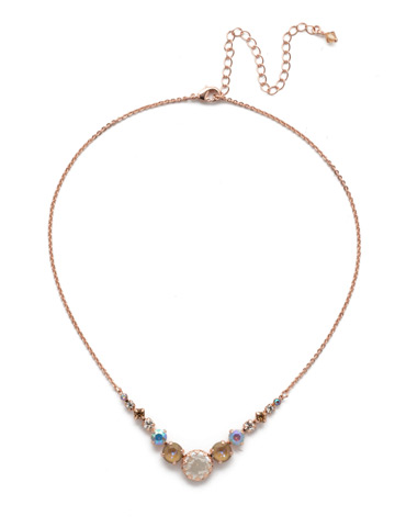 Meera Classic Necklace in Rose Gold-tone Rose Garden