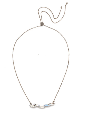 Cersei Classic Necklace in Antique Silver-tone Glacier