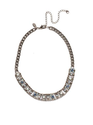 Lyanna Classic Necklace in Antique Silver-tone Glacier