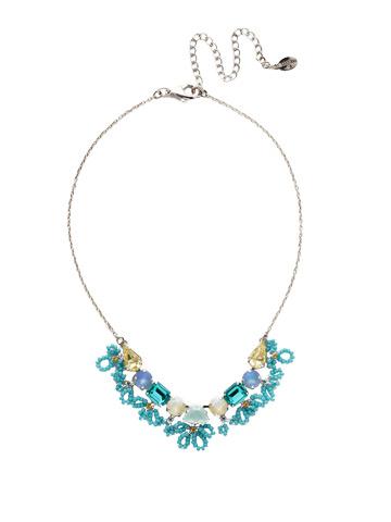 Nereida Classic Necklace in Rhodium Tahitian Treat