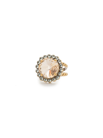 Aspen Ring in Antique Gold-tone Washed Waterfront