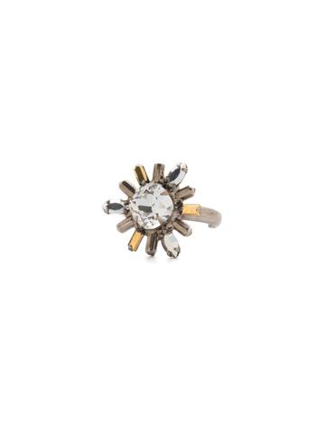 Luna Ring in Antique Silver-tone Heavy Metal