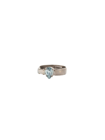 Lysa Ring in Antique Silver-tone Glacier