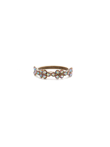 Lulu Band Ring in Antique Gold-tone Rocky Beach