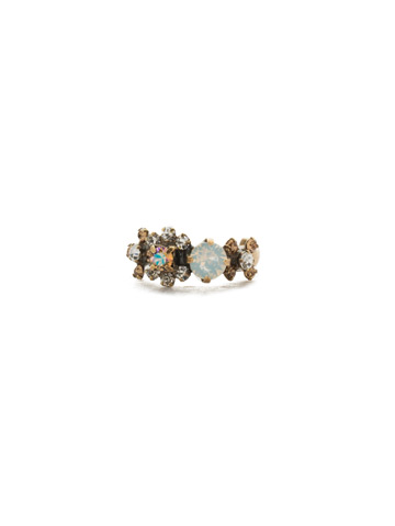 Stellar Band Ring in Antique Gold-tone Rocky Beach