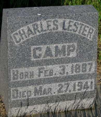 CAMP, CHARLES LESTER - Aurora County, South Dakota   CHARLES LESTER CAMP - South Dakota Gravestone Photos