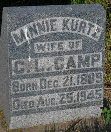 CAMP, MINNIE - Aurora County, South Dakota | MINNIE CAMP - South Dakota Gravestone Photos