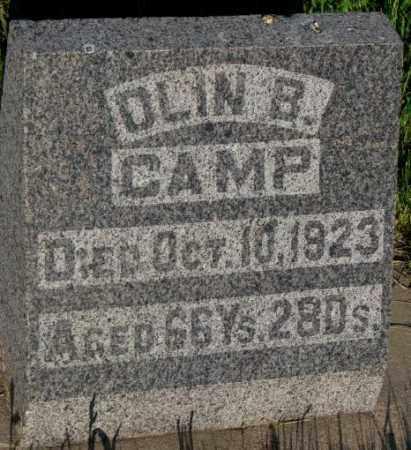 CAMP, OLIN B. - Aurora County, South Dakota | OLIN B. CAMP - South Dakota Gravestone Photos
