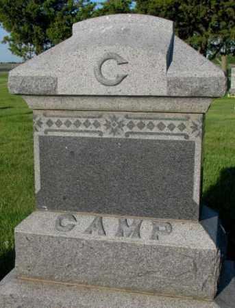 CAMP, PLOT - Aurora County, South Dakota | PLOT CAMP - South Dakota Gravestone Photos