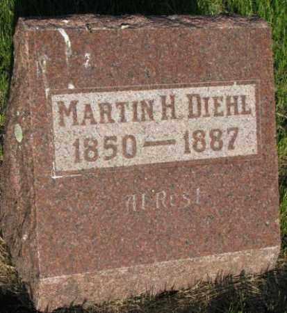 DIEHL, MARTIN H. - Aurora County, South Dakota | MARTIN H. DIEHL - South Dakota Gravestone Photos