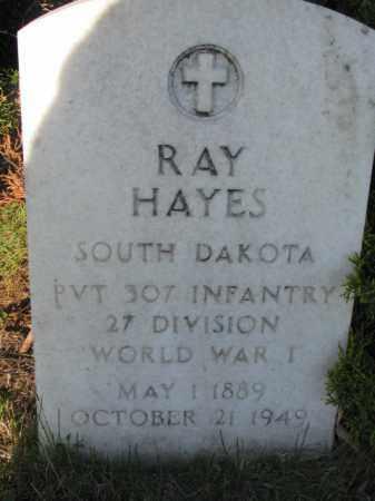 HAYES, RAY - Aurora County, South Dakota | RAY HAYES - South Dakota Gravestone Photos