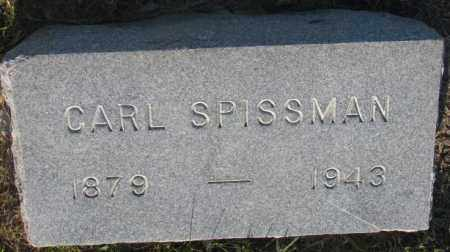 SPISSMAN, CARL - Aurora County, South Dakota | CARL SPISSMAN - South Dakota Gravestone Photos