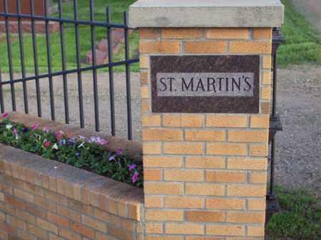*ST. MARTIN'S CEMETERY, ENTRANCE - Beadle County, South Dakota | ENTRANCE *ST. MARTIN'S CEMETERY - South Dakota Gravestone Photos