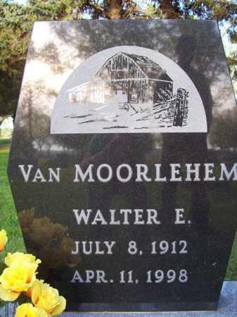 VAN MOORLEHEM, WALTER E. - Beadle County, South Dakota | WALTER E. VAN MOORLEHEM - South Dakota Gravestone Photos