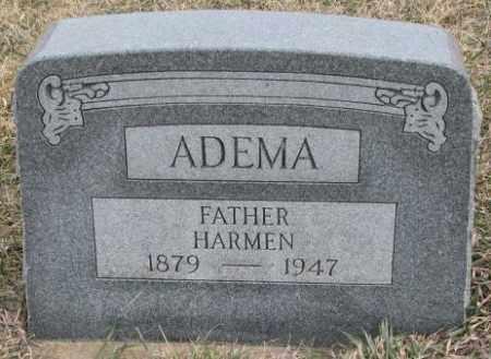 ADEMA, HARMEN - Bon Homme County, South Dakota | HARMEN ADEMA - South Dakota Gravestone Photos