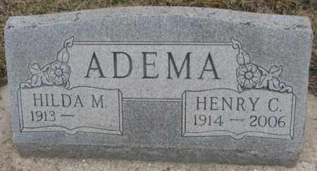 ADEMA, HENRY C. - Bon Homme County, South Dakota | HENRY C. ADEMA - South Dakota Gravestone Photos
