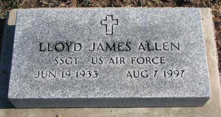 ALLEN, LLOYD JAMES - Bon Homme County, South Dakota | LLOYD JAMES ALLEN - South Dakota Gravestone Photos