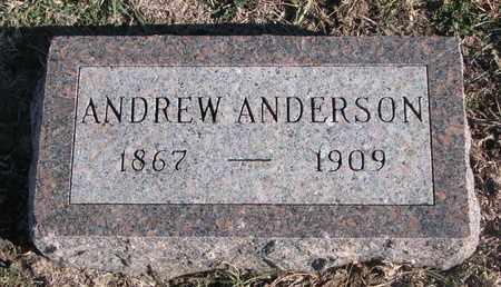 ANDERSON, ANDREW - Bon Homme County, South Dakota   ANDREW ANDERSON - South Dakota Gravestone Photos