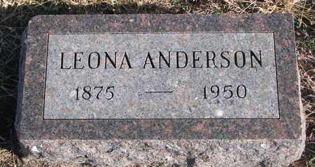 ANDERSON, LEONA - Bon Homme County, South Dakota | LEONA ANDERSON - South Dakota Gravestone Photos