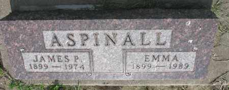ASPINALL, JAMES P. - Bon Homme County, South Dakota | JAMES P. ASPINALL - South Dakota Gravestone Photos