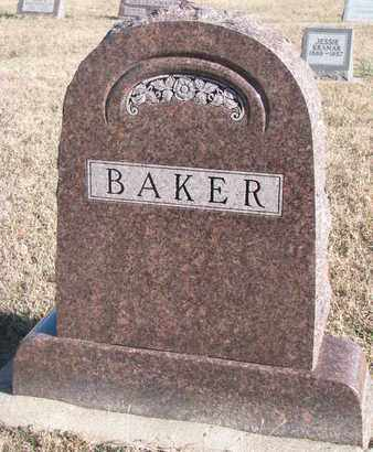 BAKER, FAMILY STONE - Bon Homme County, South Dakota | FAMILY STONE BAKER - South Dakota Gravestone Photos