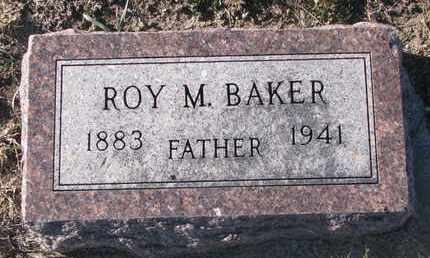BAKER, ROY M. - Bon Homme County, South Dakota | ROY M. BAKER - South Dakota Gravestone Photos