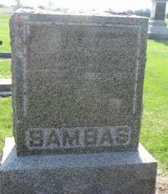 BAMBAS, ANTON - Bon Homme County, South Dakota | ANTON BAMBAS - South Dakota Gravestone Photos