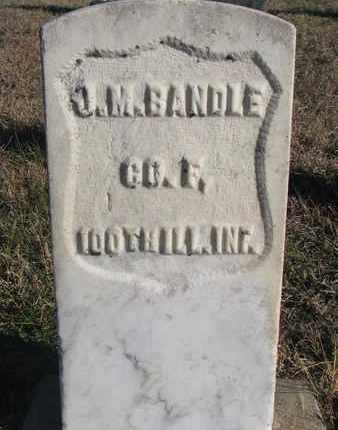 BANDLE, J.M. - Bon Homme County, South Dakota | J.M. BANDLE - South Dakota Gravestone Photos