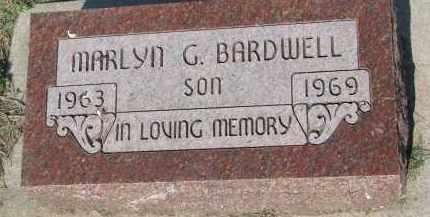 BARDWELL, MARLYN G. - Bon Homme County, South Dakota | MARLYN G. BARDWELL - South Dakota Gravestone Photos