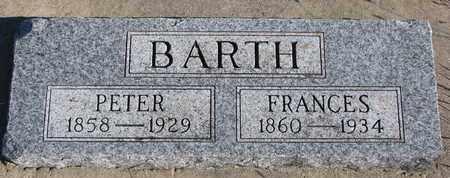 BARTH, FRANCES - Bon Homme County, South Dakota | FRANCES BARTH - South Dakota Gravestone Photos