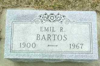 BARTOS, EMIL - Bon Homme County, South Dakota | EMIL BARTOS - South Dakota Gravestone Photos