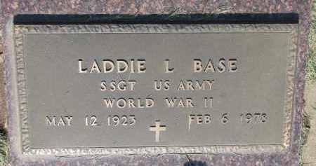 BASE, LADDIE L. - Bon Homme County, South Dakota | LADDIE L. BASE - South Dakota Gravestone Photos