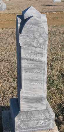 BASKIN, SARAH E. - Bon Homme County, South Dakota   SARAH E. BASKIN - South Dakota Gravestone Photos