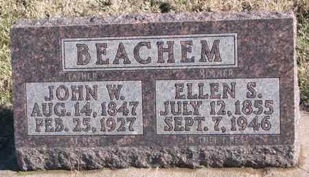 BEACHEM, JOHN W. - Bon Homme County, South Dakota | JOHN W. BEACHEM - South Dakota Gravestone Photos