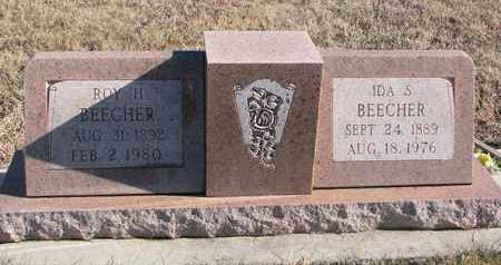 BEECHER, ROY H. - Bon Homme County, South Dakota | ROY H. BEECHER - South Dakota Gravestone Photos