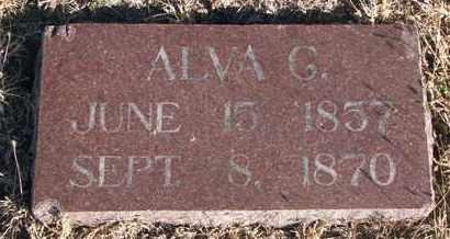 BENEDICT, ALVA G. - Bon Homme County, South Dakota | ALVA G. BENEDICT - South Dakota Gravestone Photos