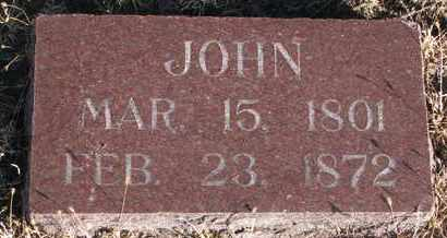 BENEDICT, JOHN - Bon Homme County, South Dakota | JOHN BENEDICT - South Dakota Gravestone Photos