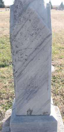 BENEDICT, UNKNOWN - Bon Homme County, South Dakota   UNKNOWN BENEDICT - South Dakota Gravestone Photos