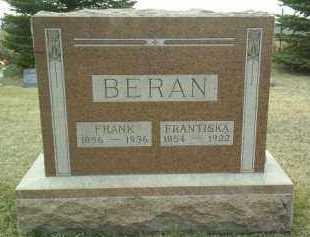 BERAN, FRANK - Bon Homme County, South Dakota | FRANK BERAN - South Dakota Gravestone Photos