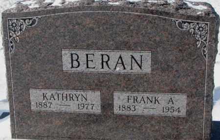 BERAN, KATHRYN - Bon Homme County, South Dakota | KATHRYN BERAN - South Dakota Gravestone Photos