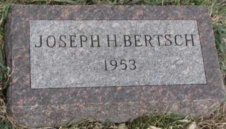 BERTSCH, JOSEPH H. - Bon Homme County, South Dakota | JOSEPH H. BERTSCH - South Dakota Gravestone Photos