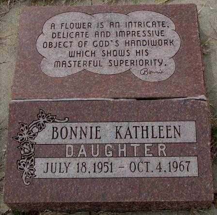 BIESMA, BONNIE KATHLEEN - Bon Homme County, South Dakota | BONNIE KATHLEEN BIESMA - South Dakota Gravestone Photos