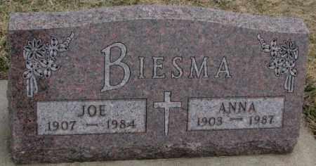 BIESMA, JOE - Bon Homme County, South Dakota | JOE BIESMA - South Dakota Gravestone Photos