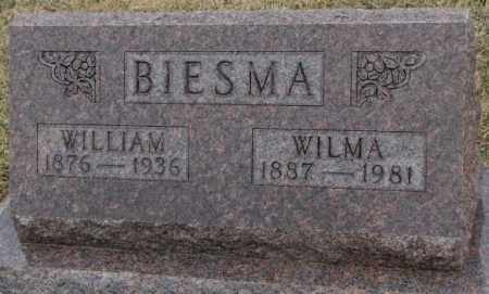 BIESMA, WILLIAM - Bon Homme County, South Dakota | WILLIAM BIESMA - South Dakota Gravestone Photos